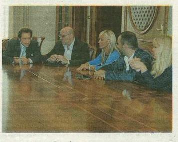 Incontro dal prefetto Fulvio Rocco De Marinis per il caso Confcommercio