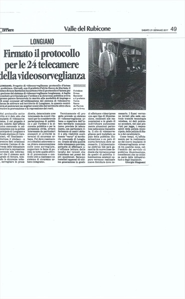 Corriere di Romagna - sabato 21 gennaio 2017