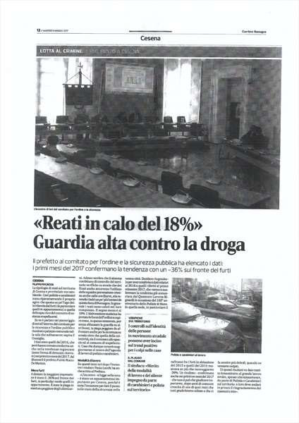 Corriere Romagna 9 maggio 2017