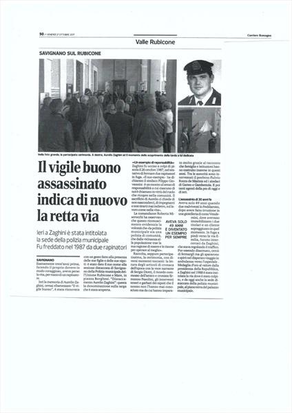 Corriere di Romagna - venerdi' 27 ottobre 2017