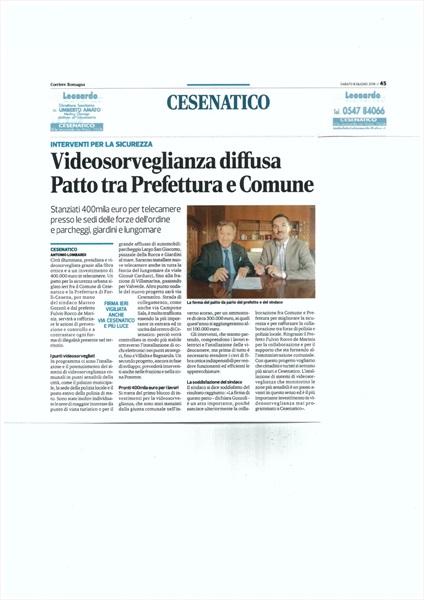 Corriere Romagna 9 giugno 2018